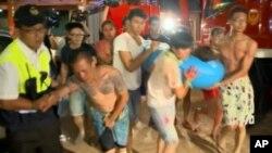 台灣新北市八仙樂園2015年6月27日發生意外粉塵爆炸,逾五百名民眾受傷。