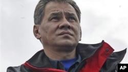 俄罗斯国防部长谢尔盖·绍伊古