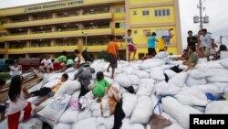 Centar za evakuaciju u Manili