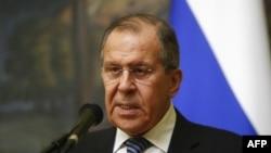 Le ministre russe des Affaires étrangères Sergueï Lavrov là Moscou, en Russie, le 29 mars 2018. REUTERS / Sergei Karpukhin