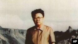 젊은 시절의 김정일 국방위원장