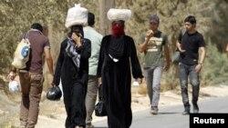 Trại tị nạn Al-Zaatri tại thành phố Mafraq ở Jordan.