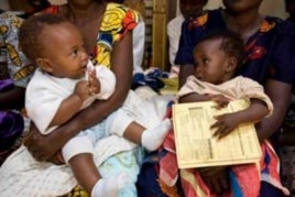Babies awaiting immunization that could save their lives