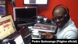 Pedro Quissanga, comunicador angolano, Massachusetts