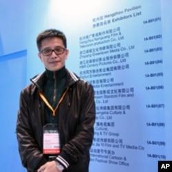 浙江省中共杭州市委宣传部负责文化产业的官员朱小勇