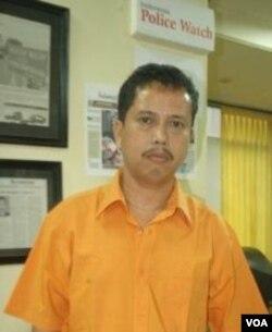 Ketua Presidium Indonesian Police Watch, Neta Saputra Pane (foto: dok).
