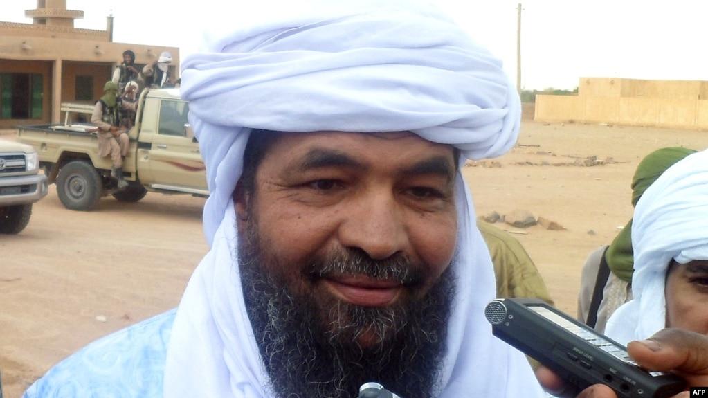 Iyad Ag Ghaly, aéroport de Kidal, dans le nord du Mali, le 7 août 2012.