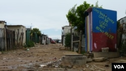Diepsloot, South Africa (VOA/Solenn Honorine).
