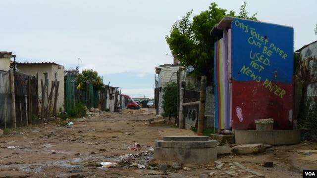 Diepsloot, South Africa (VOA/Solenn Honorine).