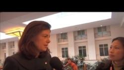 美国女联邦国会议员谈美中贸易