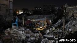 Razoreni domovi u Gazi