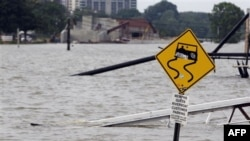 Наводнение в городе Мемфис