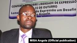 Angola - Jornalista e escritor Domingos da Cruz