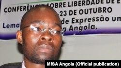 Domingos da Cruz, activista, escritor e professor universitário angolano