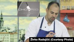 "Kuvar Živko Radojčić pobednik je 17. epizode nove sezone takmičenja ""Chopped"", koja je premijerno prikazana na američkoj televiziji 25. avgusta 2020."