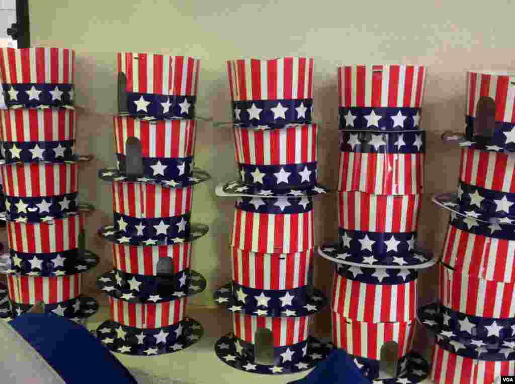 美國駐港總領館舉辦觀摩美國大選活動(美國之音海彥拍攝)