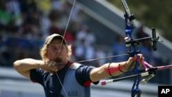 U.S. archer Brady Ellison (photo from Oct. 2011)