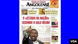 A edição de 27 de Outubro do Semanário Angolense, saiu no dia 29, depois de expurgadas quatro páginas dedicadas a um dircurso de Samakuva.