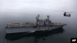 伊朗海軍艦隻 (資料照片)