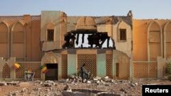 L'ancien bâtiment de la Douane à Gao servait de base aux islamistes