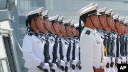 Binh sĩ hải quân Trung Quốc.