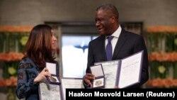 Prémios Nobel da Paz 2018, Nadia Murad e Denis Mukwege