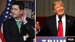 پل رایان، یار انتخاباتی میت رامنی در انتخابات ریاست جمهوری دوره قبل بود که از منتقدان جدی دونالد ترامپ محسوب می شود.