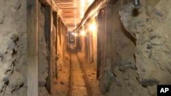Autoridades señalaron que al parecer los túneles eran utilizados por el cártel de Sinaloa para pasar droga a EE.UU.