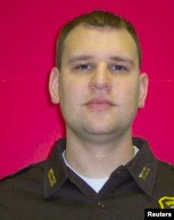 FILE - Michael Krol once worked for the Wayne County (Mich.) Sheriff's Office, which shared this undated photo.