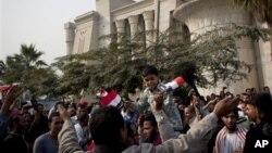Каир, Египет, сторонники Мухаммеда Мурси.