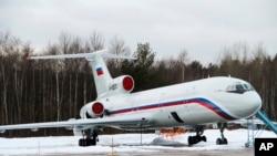 روسی ساختہ TU-154 طیارہ (فائل فوٹو)