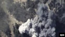 شام میں روسی فضائی حملے