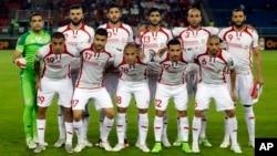 L'équipe nationale de la Tunisie, 26 janvier 2015.