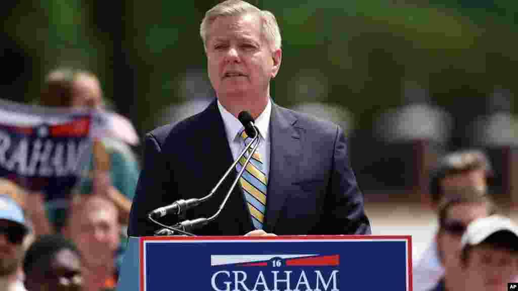 Lindsey Olin Graham est sénateur de la Caroline du Sud depuis 2003.