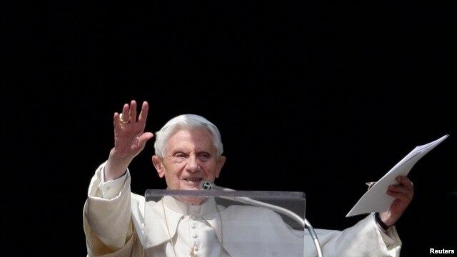 Es la penúltima intervención pública del Santo Padre.