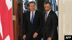 Başkan Obama ve İngiltere Başbakanı Cameron