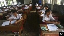 Suasana kelas di sebuah sekolah dasar di Depok, Jawa Barat. (Foto: Dok)