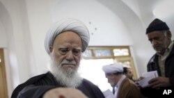 伊朗選民投票。