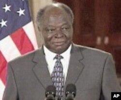 Rais wa Kenya, Mwai Kibaki.