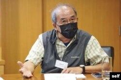 香港民意研究所副行政總裁鍾劍華。 (鍾劍華提供)