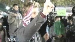 Мэр Нью-Йорка к демонстрантам