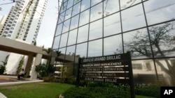 Văn phòng của tổ hợp luật Panama Mossack Fonseca tại Panama City.