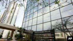 پاناما سٹی میں واقع موساک فونسیکا کا ایک دفتر