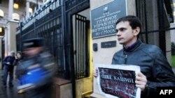 Người Nga biểu tình phản đối việc hành hung thô bạo các ký giả