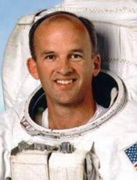 Astronaut Jeffrey Williams