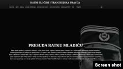 web stranica posvećena suđenju Ratku Maldiću