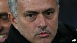 L'entraîneur de Manchester United José Mourinho, 10 décembre 2014.
