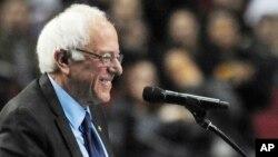 Democratic presidential candidate Bernie Sanders, March 25, 2016.