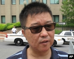 抗议活动组织者塔林胡接受美国之音采访