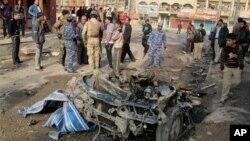 عراق: بم دھماکوں میں 63 ہلاک